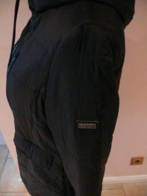 Diesel Jacke Schwarz Kapuze