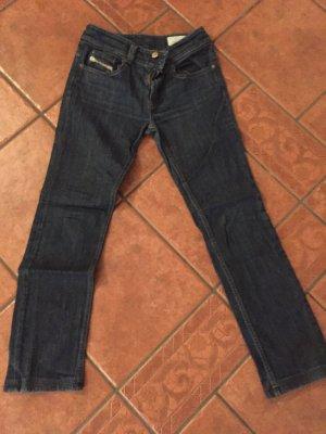 Diesel Pantalone a vita bassa blu scuro