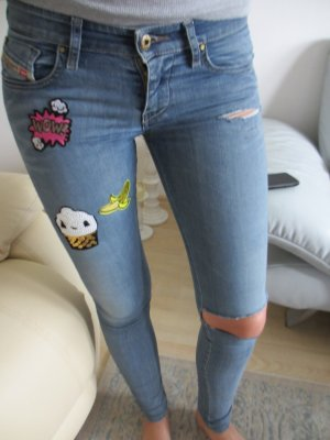 Diesel Skinny Jeans multicolored