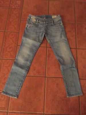 Diesel Jeans vita bassa azzurro