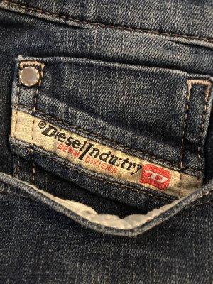 Diesel Straight Leg Jeans dark blue