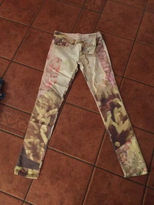 Diesel Pantalone a vita bassa rosa pallido