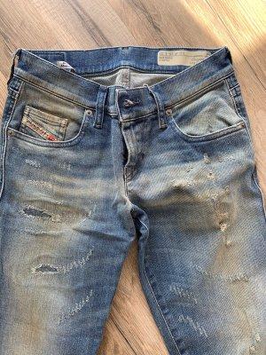 Diesel Jeans stretch bleu-beige