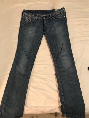 Diesel Industry Low Rise Jeans blue