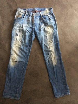 Diesel Pantalone cinque tasche blu