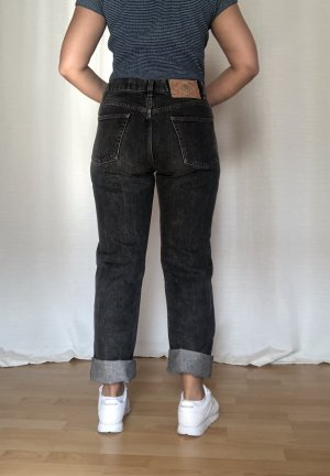 Diesel High Waist Jeans anthracite