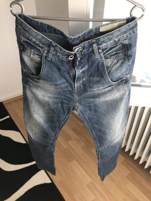 Diesel Baggy Jeans steel blue