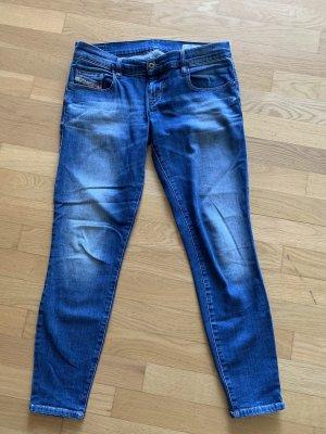Diesel Jeans cigarette bleu-bleu acier