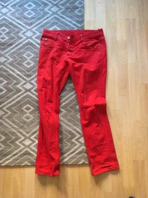 Diesel Boot Cut spijkerbroek rood