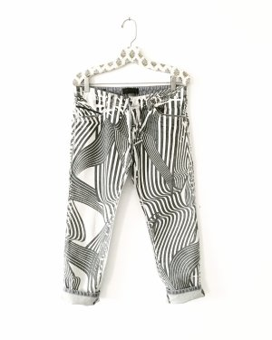 Diesel Black Gold Jeans a 7/8 grigio chiaro-grigio
