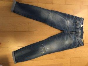 Diesel Jeans met rechte pijpen blauw