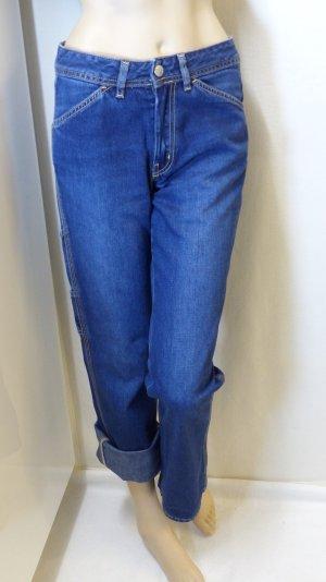 Diesel Jeans boyfriend blu Cotone