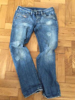 Diesel Jeans, Gr. 30, schöne Waschung, fester Stoff