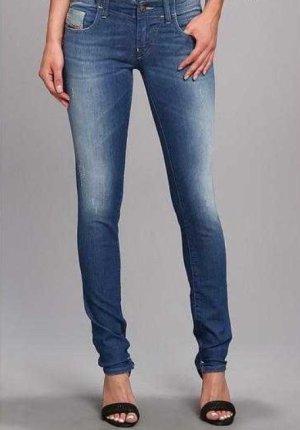 Diesel Jeans Grupee Super Slim Skinny Wash S069 Stretch Größe W 27 L 32