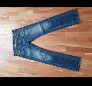 Diesel Jeans svasati blu scuro Cotone