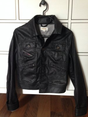 Diesel Jeans-Jacke Größe S schwarz