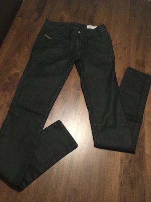 Diesel Jeans Lederoptik Größe 26