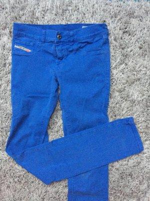 Diesel Jeans, leuchtend blau