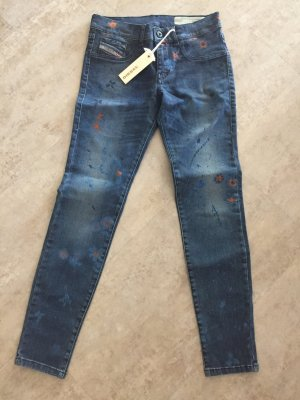 Diesel Jeans slim fit blu scuro
