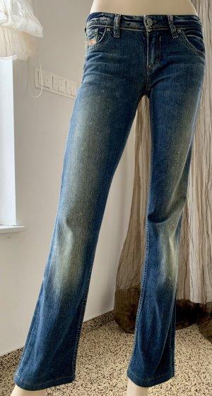 DIESEL Jeans LOWKY coole Waschung Nieten Gr. 26/34