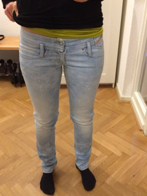Diesel Jeans Matic Slim Tapered stretch hellblau W26/L32