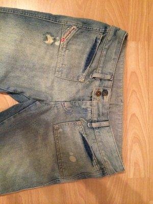DIESEL Jeans mit heller Waschung -29-