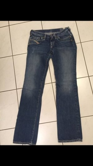 Diesel Jeans, Mittelbau, straight-leg