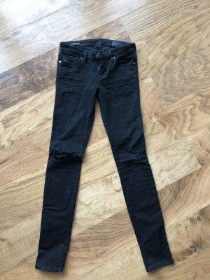 Diesel Jeans Schwarz Grau neuwertig Gr 26 super stretchig skinzee low diesel schwarz 0853M