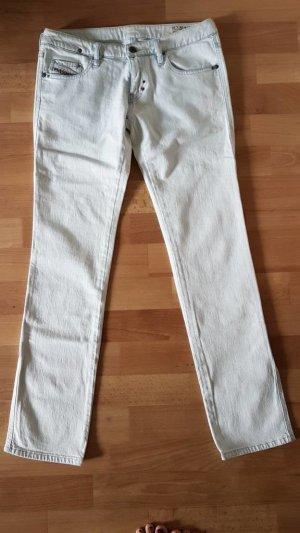 Diesel Jeans coupe-droite bleu pâle-bleu clair