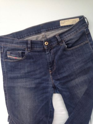 Diesel Jeans W30L30 Regular Slim Straight blau