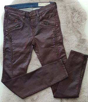 Diesel Jeans wetlook Lederoptik