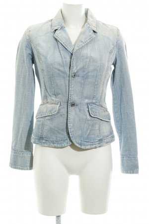 Diesel Denim Blazer azure-natural white casual look