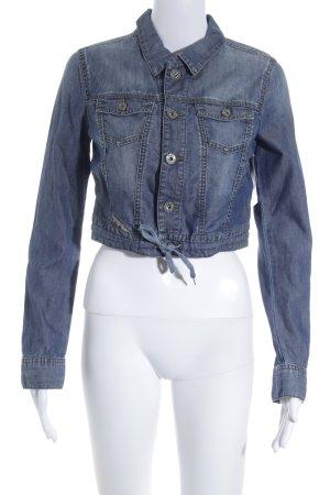 Diesel Veste en jean bleu pâle style minimaliste