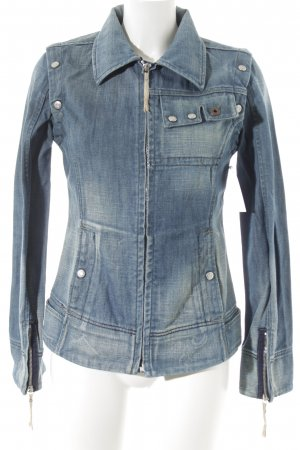 Diesel Jeansjacke blau 2in1-Optik