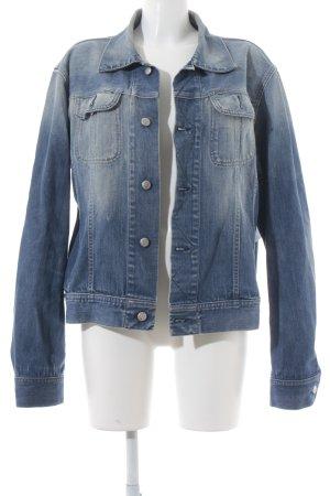 Diesel Jeansjacke blau-blassblau Jeans-Optik