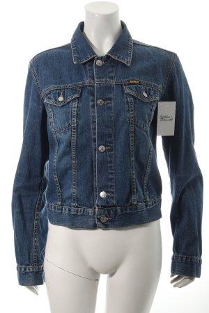 Diesel Jeansjacke blau sportlicher Stil