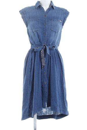 Diesel Robe en jean bleu style décontracté