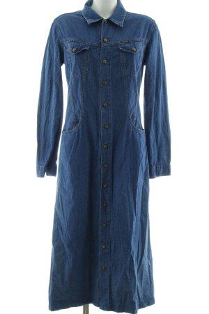 Diesel Jeanskleid blau Casual-Look
