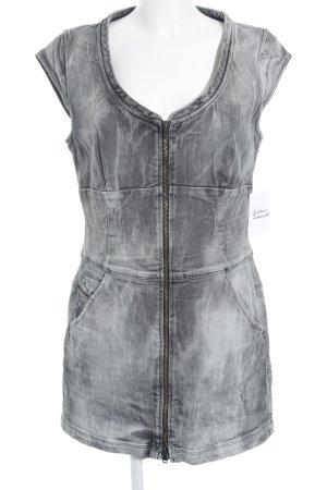 Diesel Jeanskleid grau Casual-Look