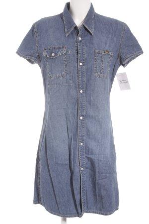 Diesel Jeanskleid stahlblau Country-Look