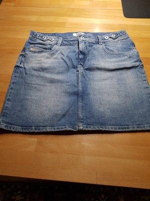 Diesel Jupe en jeans bleu acier