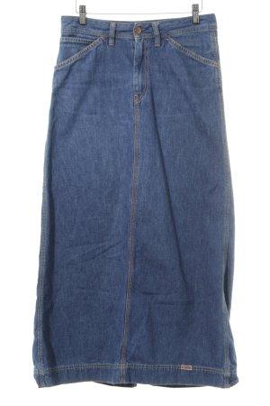 Diesel Jupe en jeans bleu moucheté style décontracté