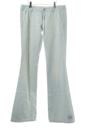 Diesel Jeans flare bleu clair style hippie