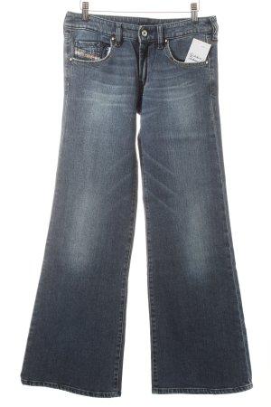Diesel Jeans flare bleu style décontracté