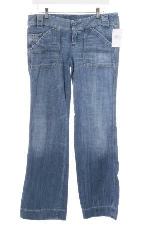 "Diesel Jeansschlaghose ""WIGGY"" blau"
