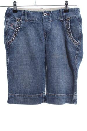 Diesel Jeansshorts blau Casual-Look