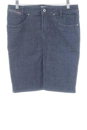 Diesel Jeansshorts dunkelblau Casual-Look