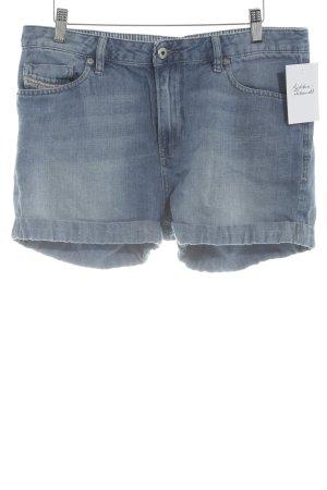 Diesel Denim Shorts steel blue wrap look