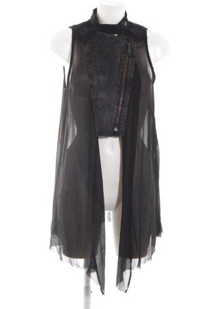 Diesel Spijkervest zwart extravagante stijl