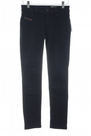 Diesel Jeggings dunkelblau Casual-Look